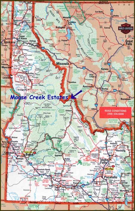Montana Idaho Map.Idaho Waterfront Property For Sale Lot 11 Montana Border